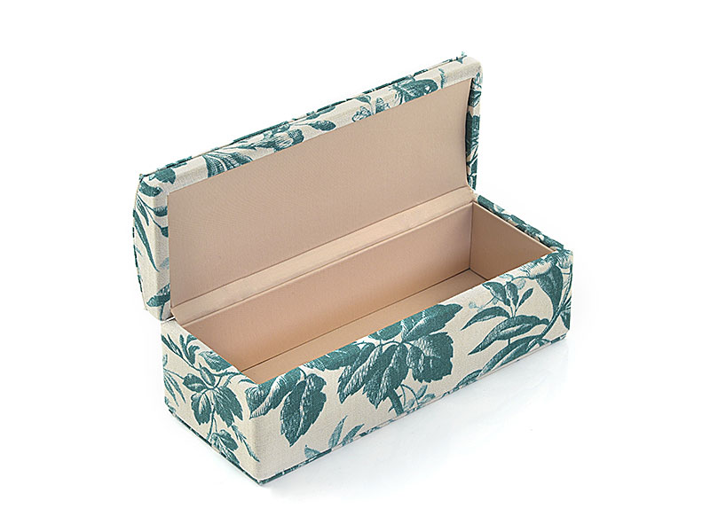 Custom coated jewellery boxes